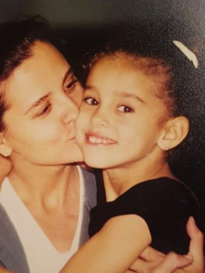 Paulina Goto, actriz de 'Vencer el Miedo', compartió fotografías de su infancia en su cuenta de Instagram.