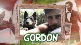 Carlos Ferro presenta a su mascota Gordon, 'le gusta el show, igual al papá'