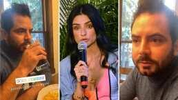 """Aislinn Derbez critica el desayuno 'poco' saludable de José Eduardo y él asegura: """"Agarras vitalidad"""""""
