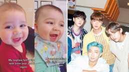 Bebé fan de BTS llena las redes sociales de ternura por su reacción a la música de la banda