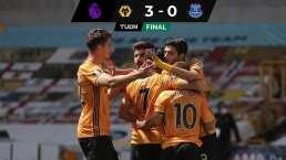 De la mano de Jiménez, los Wolves golean al Everton