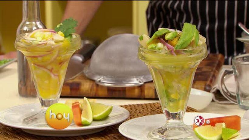 Cocina Chef Oropeza Cebiche de primavera