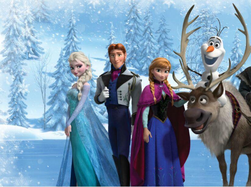 'Frozen' recaudó 1,276 millones de dólares.
