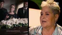 Lupita D' Alessio sobre su bioserie, 'Lo más bajo que yo viví, ahí salió'