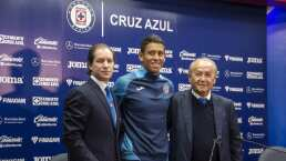 Cruz Azul presenta a Luis Romo como nuevo refuerzo