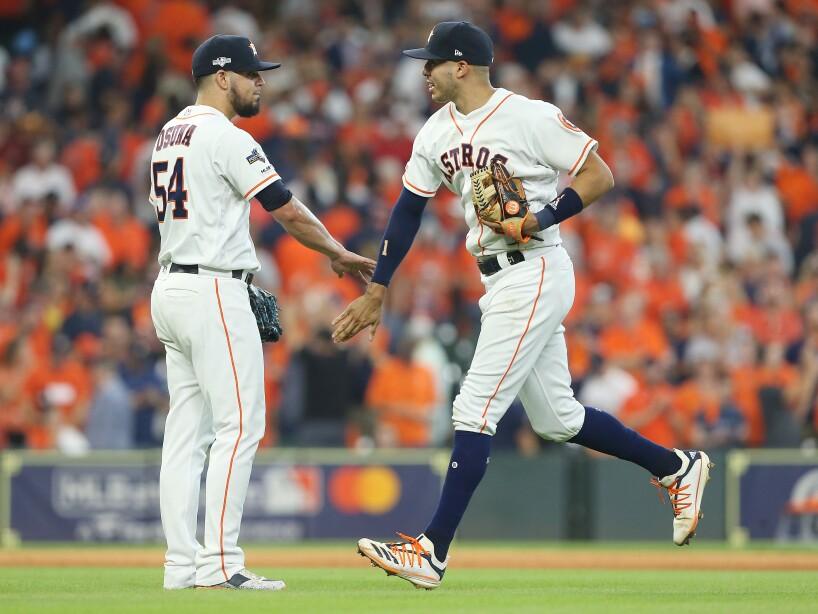 Tampa Bay Rays caen ante Houston Astros 6-2 en el primer episodio de la Serie Divisional.