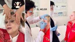 'Vine a que me consientan': Erika Buenfil se inyecta bótox y muestra cómo se cuida su rostro