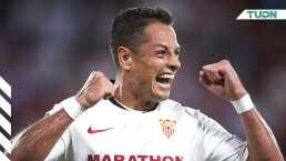 Chicharito gana bonos para ser titular en el Sevilla