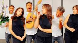 """Eugenio Derbez le lleva serenata a su esposa al estilo de 'Ludovico P. Luche': """"¡Oh que la chin…!"""""""