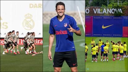 La actividad futbolística comienza a reanudarse y en España, los equipos preparan intensamente el regreso de LaLiga.