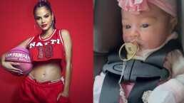Natti Natasha se derrite de amor por Vida y comparte con sus fans cómo se ve a unos días de nacida