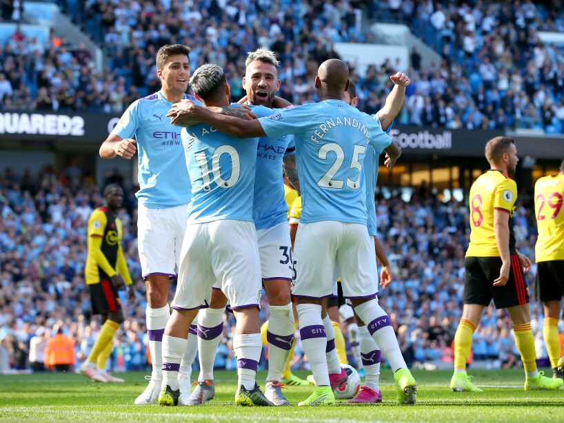 la goleada histórica de Manchester City 8-0