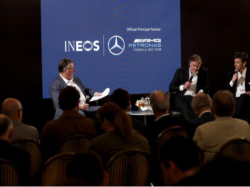 Mercedes-AMG Petronas Formula One Team Announces Principal Partnership with INEOS