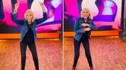 Laura Bozzo muestra sus mejores pasos de baile al ritmo de Celia Cruz y asegura: 'Los perros ladran, nosotros avanzamos'