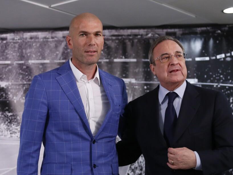 Florentino Perez, Zinedine Zidane