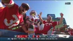 ¡Mahomes consiguió otro touchdown para los Chiefs!