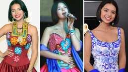 Ángela Aguilar utilizará un vestido hecho en casa para los Premios Juventud