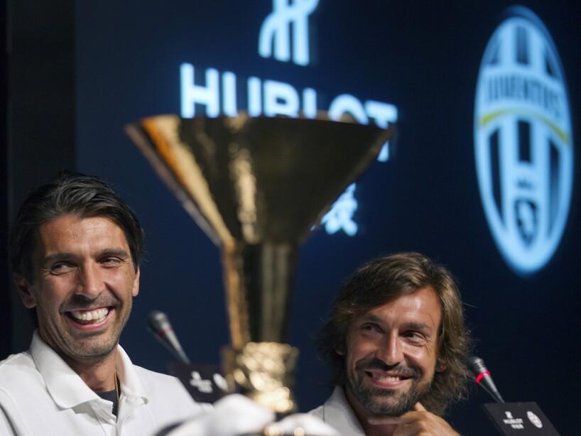 Gianluigi Buffon, Andrea Pirlo