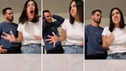 Yuridia y su novio hacen épica parodia de pelea entre Ludovico y Federica P.Luche (VIDEO)