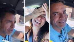 Eugenio Derbez no pierde el toque y hace reír a Alessandra con chiste de destilados