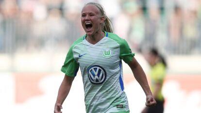 Pernille Harder, la mejor jugadora de la UEFA