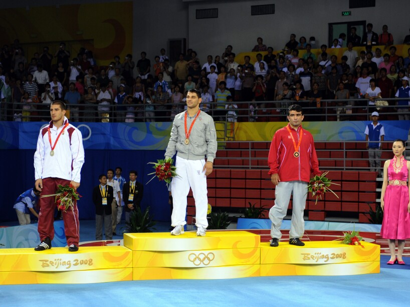 Beijing Olympics Wrestling Greco-Roman Men 84kg