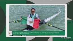 Kenia Lechuga presumió su medalla de oro