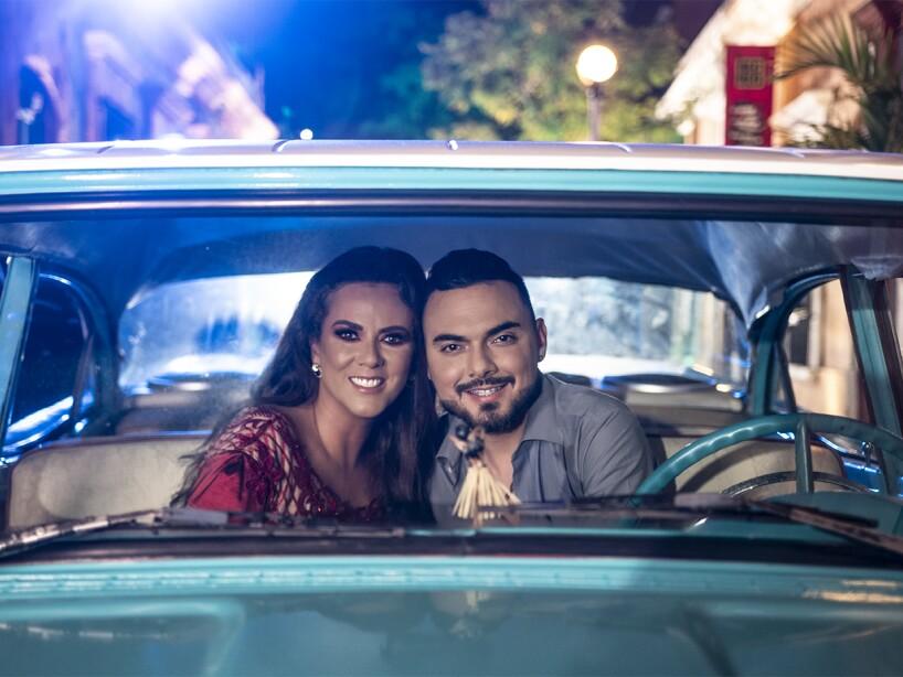 Así se ve el nuevo video musical entre Edith Márquez y Banda El Recodo