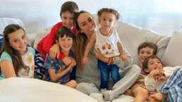'¡Clases en casa!': Inés Gómez Mont y sus hijos estudian desde su hogar por cuarentena del coronavirus