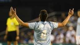 ¡Cuarto gol! Néstor Araujo marca de cabeza con el Celta