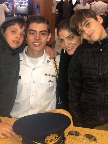 Ana Bárbara suele compartir en redes sociales algunos de los momentos más importantes de su vida en compañía de sus hijos: Emiliano, José María y Jerónimo.