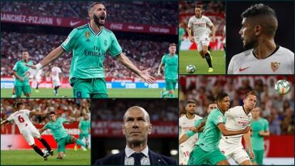 La jornada 5 nos trae un enfrentamiento vibrante entre el Sevilla de Lopetegui y el Real Madrid de Zidane.