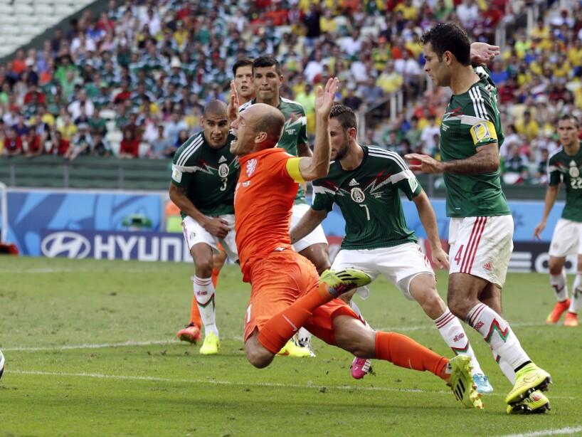APTOPIX Brazil Soccer WCup Netherlands Mexico