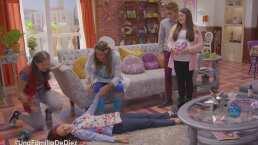 ¿Quién es mejor mamá, La Nena o Gaby? Justito y Victoria las ponen a prueba