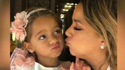 La reacción de Alaïa, hija de Adamari López, al enterarse que Santa Claus 'no podrá' repartir regalos este año