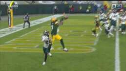 Conexión Rodgers-Adams da la voltereta de Packers 3-7 ante Eagles