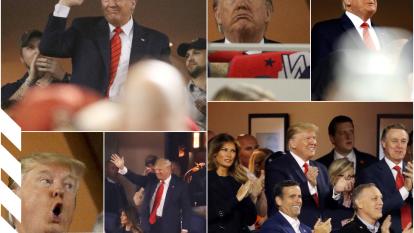 El presidente disfruta de todo momento con una sonrisa que sustena su personalidad.