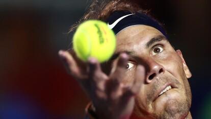 Rafael Nadal jugará la gran final del torneo celebrado en Acapulco.    Tras derrotar a Grigor Dimitrov con parciales de 6-3 y 6-2, el español va por el tricampeonato del AMT.