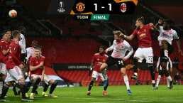 Manchester United y AC Milan empatan en la ida