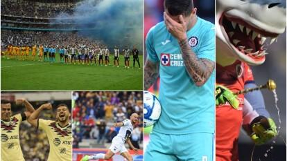 Estas son las mejores imágenes de los nueve encuentros en la pasada Fecha 12 del Apertura 2019 en el balompié azteca.