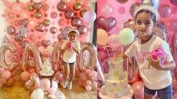 Entre estrellas y mucho color, Jacky Bracamontes festeja el cumpleaños de su hija, Carito