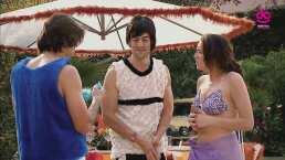 Bibi se apena con su novio porque Ludovico anda en calzones frente a ellos