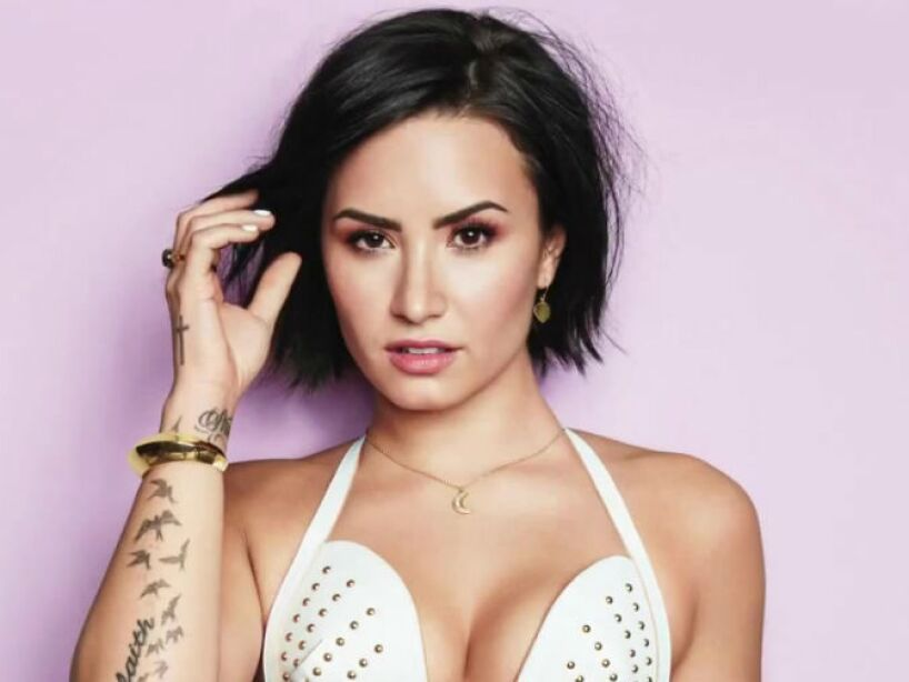 14. Demetria Devonne Lovato: Tuvo el buen tino de dejar atrás su nombre real y ponerse Demi Lovato.