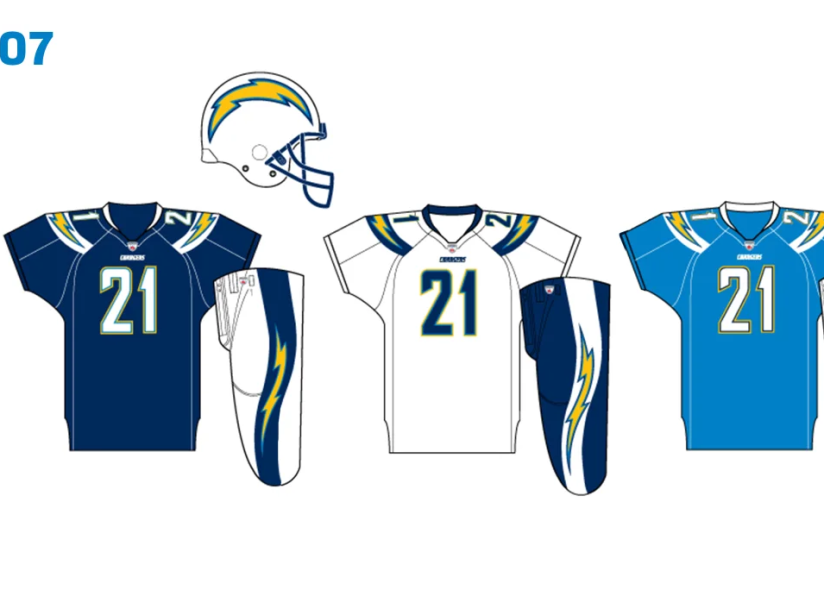 Uniforme Chargers 2007.png