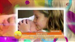 Gabriel Soto compartió detalles de la llegada de su bebé
