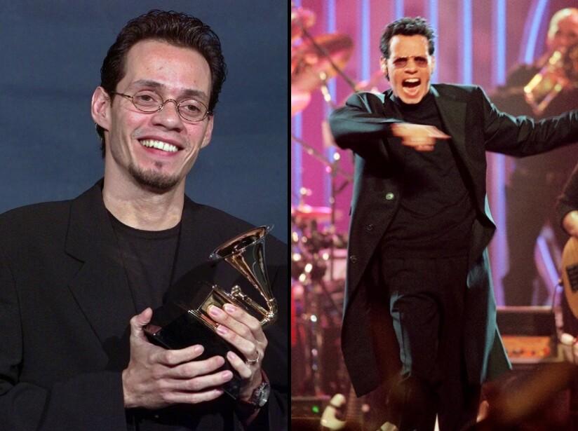 Antes y después, como se veían: Alejandro Sanz, Paulina Rubio, Jennifer Lopez y Marc Anthony
