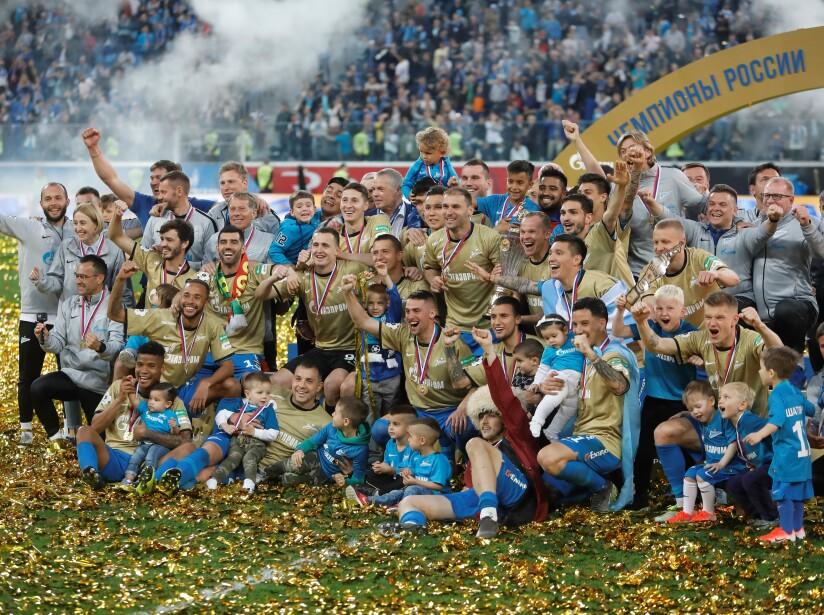 FC Zenit Saint Petersburg vs PFC CSKA Moscow - Russian Premier League