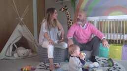Así luce el cuarto que Erika Zaba y su esposo remodelaron especialmente para su bebé