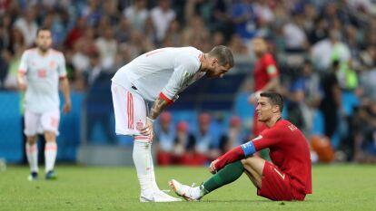 En un partidazo con feria de goles, España y Portugal no logran romper el empate.