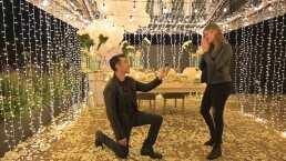 Adrián Uribe y Thuany Martins: Así fue la romántica propuesta de matrimonio